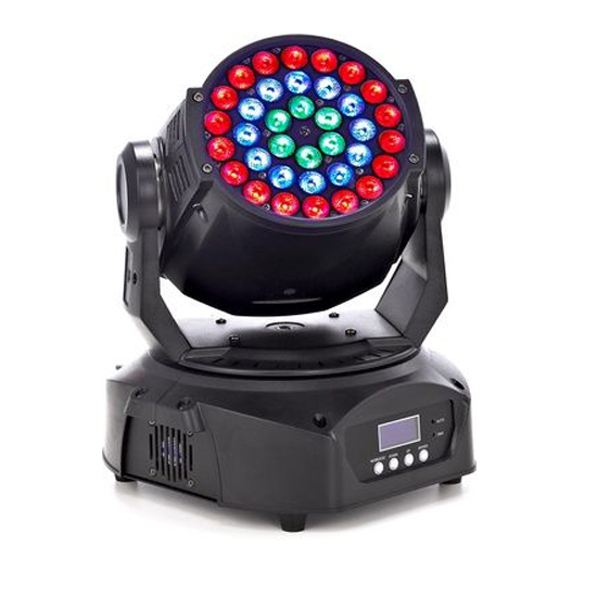 Stairville MH-336 LED wash moving lights