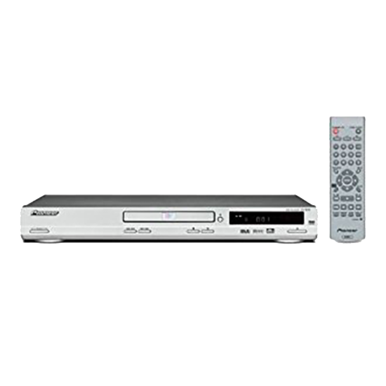Pioneer DV-360S Silver Multi-region DVD Player