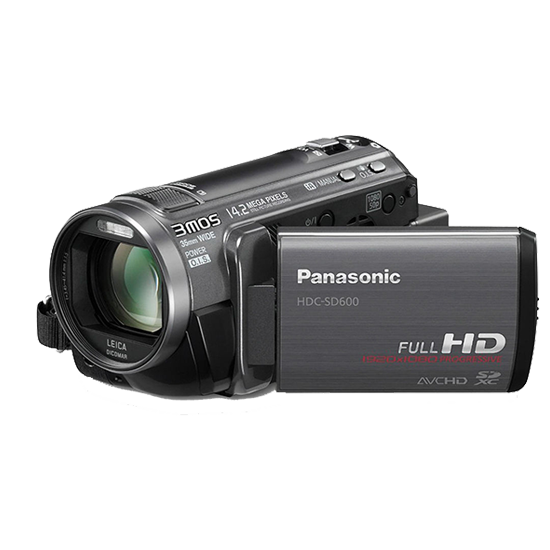 Panasonic HDC SD600K HD Camera