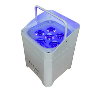 RGBWA+UV Wireless Battery Uplighters