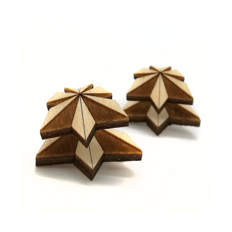 Origami Doppio / Wood / Maple / Nature OrDopWoMaNa