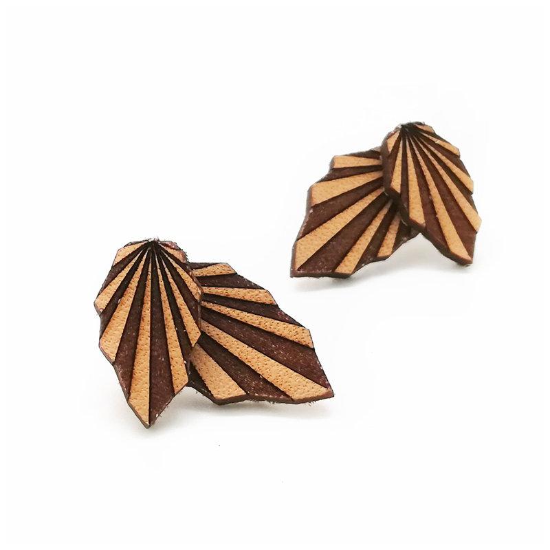 Origami Doppio / Leather / Beech / Nature OrDoLeBeNa