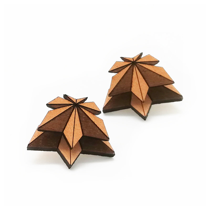 Origami Doppio / Leather / Maple / Nature OrDoLeMaNa