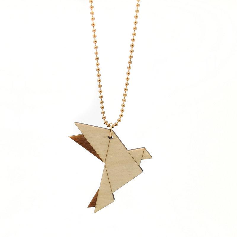 Origami / Wood / Dove / Chain / Nature OrWoDoChNa