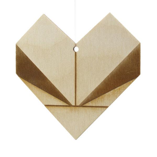 Bæredygtig Julepynt / Hjerte SusChrHeart