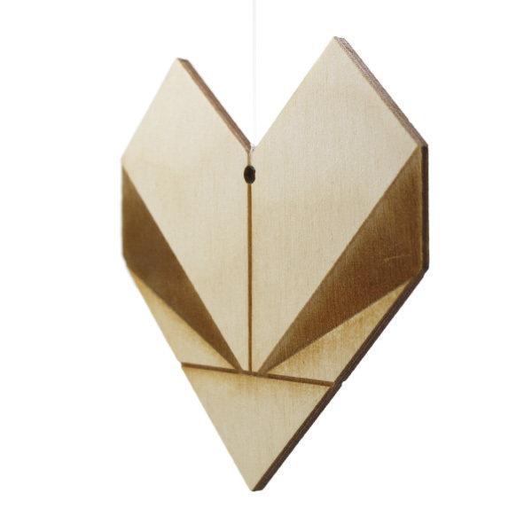 Bæredygtig Julepynt / Hjerte
