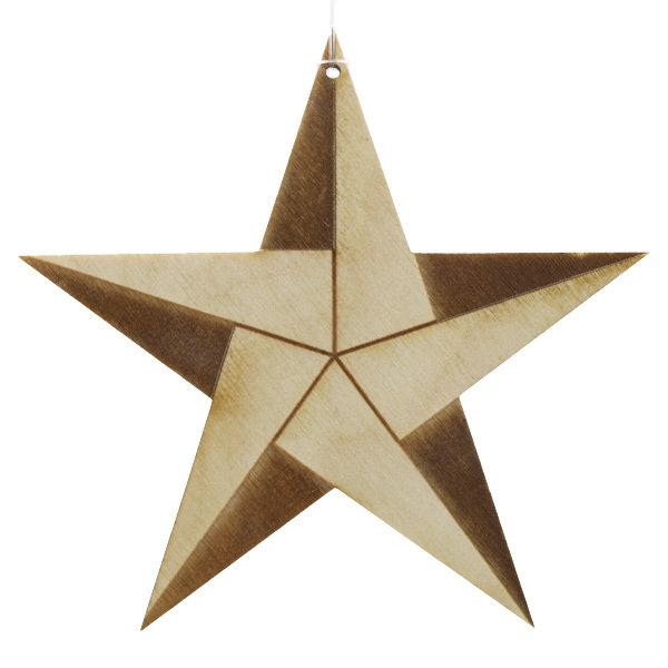 Bæredygtig Julepynt / Stjerne SusChrStar