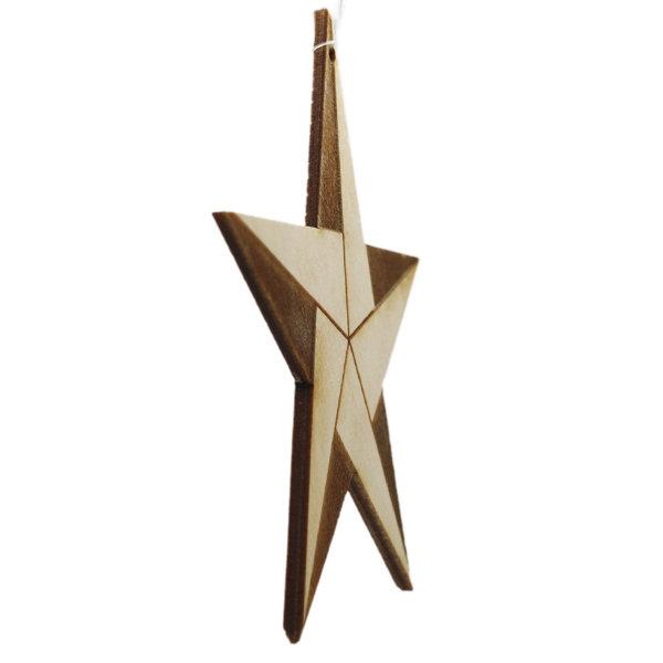 Bæredygtig Julepynt / Stjerne