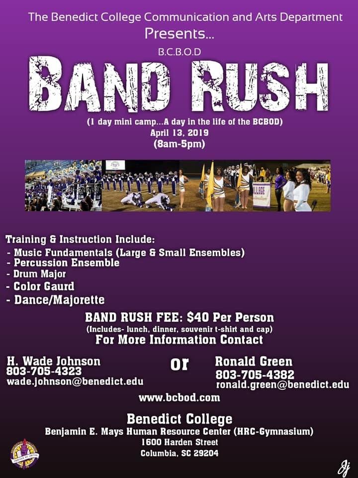 Band Rush 2019 Student