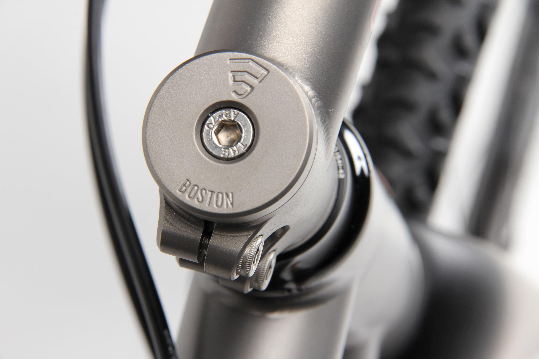 Titanium Steerer Cap with Integrated 5mm Spacer
