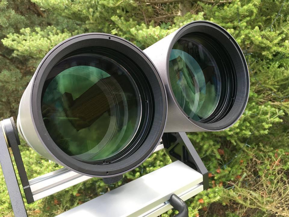 120 mm freie Öffnung pro Auge