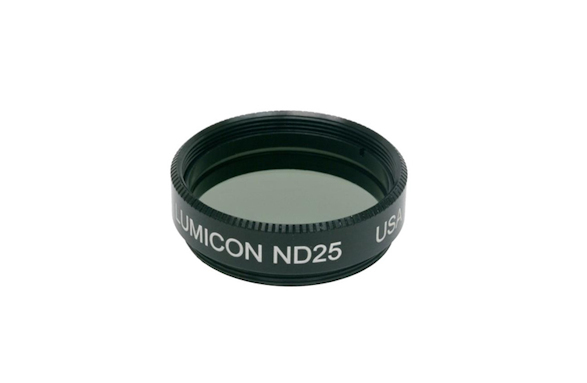 "Lumicon 1,25"" Mondfilter Graufilter ND 25% Durchlass 00027"