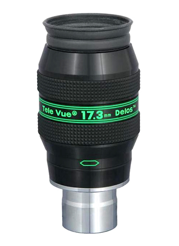 Tele Vue Delos 17,3 mm Okular, 72° 00029