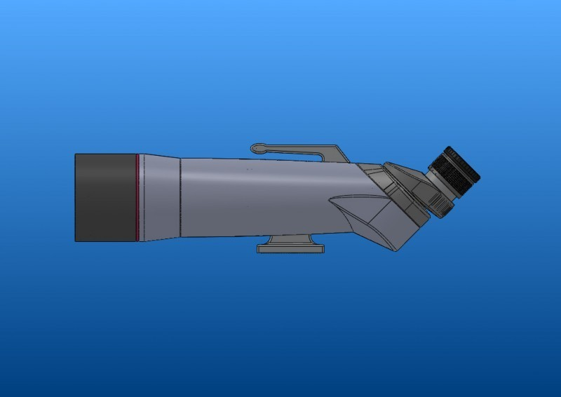 APM 82 mm 90° Groß-Fernglas 1,25'' 00032