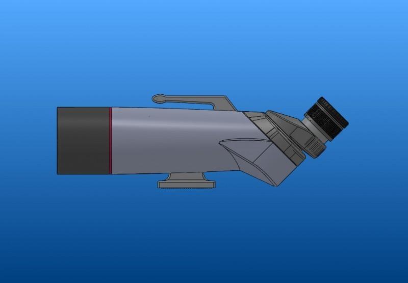 APM 70 mm 90° Groß-Fernglas 1,25'' 00033