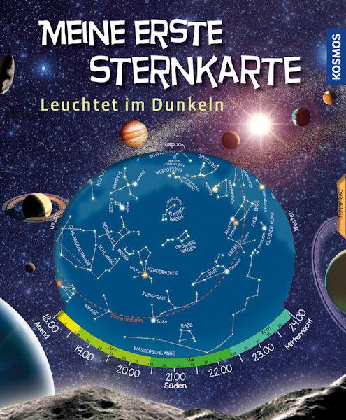 Meine erste Sternkarte, Kosmos Verlag, leuchtet im Dunkeln 00050