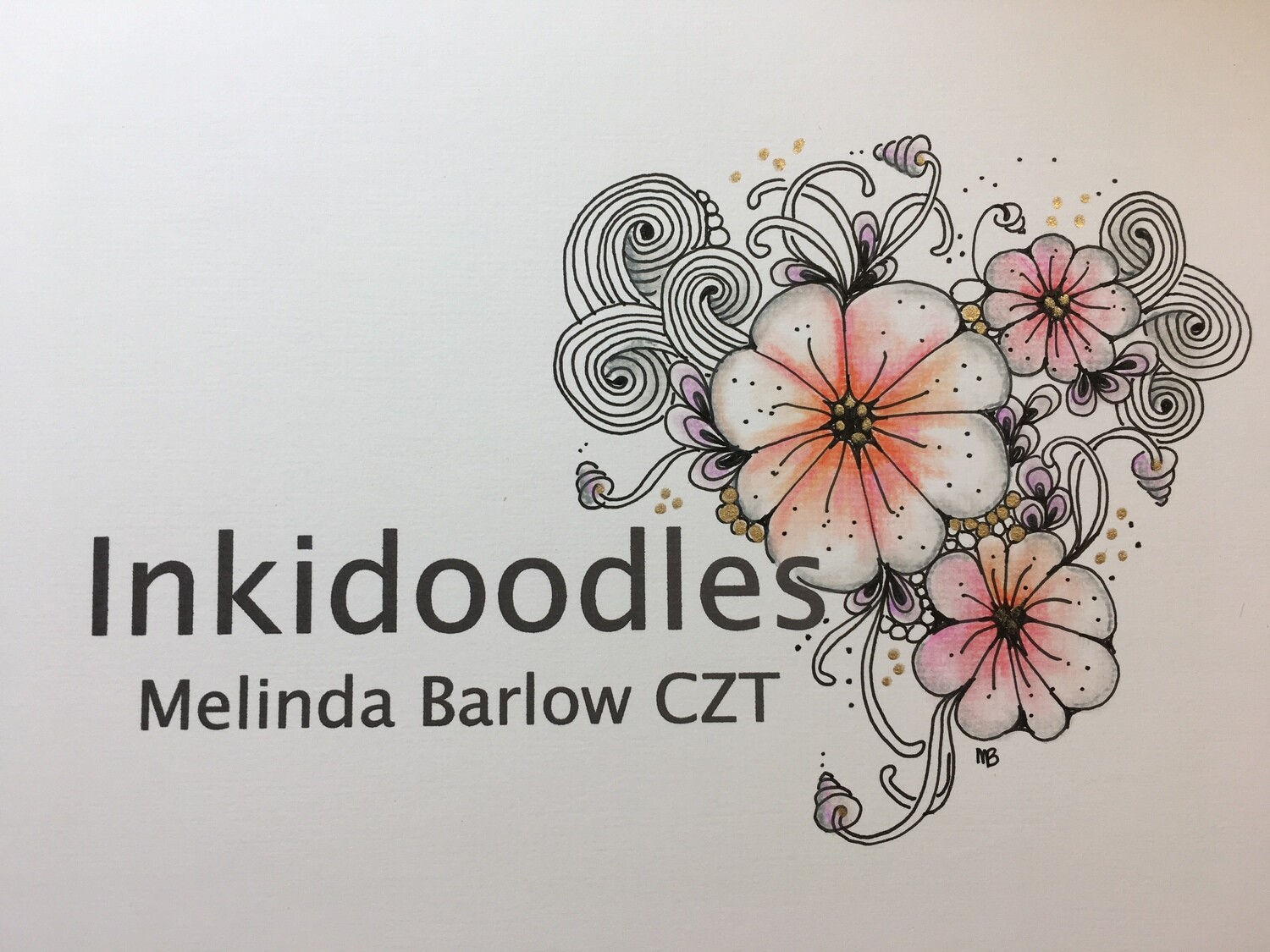 Melinda Barlow CZT List of Tangle Pattern YouTube Videos Names and Links