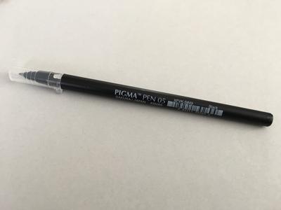 Pigma pen 05 by Sakura
