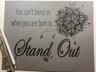 Stand Out Template Downloadable