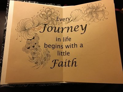 Every Journey begins with a little Faith