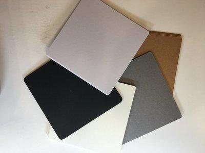 Multi Color Tile pack Square 3 1/2' 10 Cream, 10 Brown, 10  Gray, 10 White, 10 Black