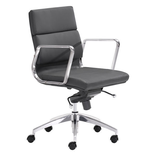 Engineer Low Back Office Chair Black 205895-EB