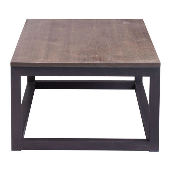 Civic Center industrial modern Rectangular Coffee Table