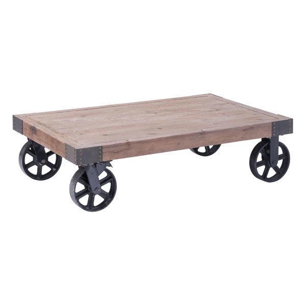 Barbary Coast industrial cart Coffee Table 98130-EB