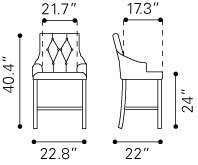 Burbank Counter Height Chair