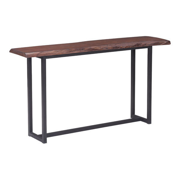 Papillion Industrial Modern Console Table Live edge 100437-EB