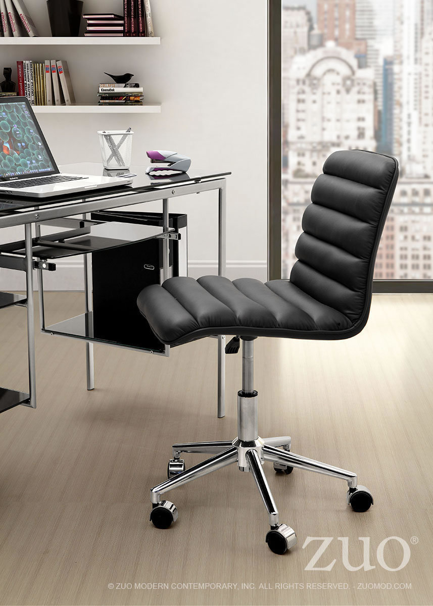 Admire Modern Office Chair Red