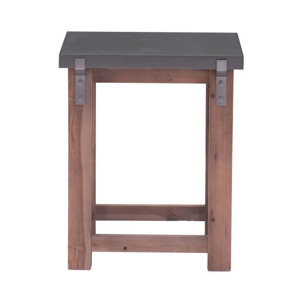 Greenpoint Industrial Modern Side Table