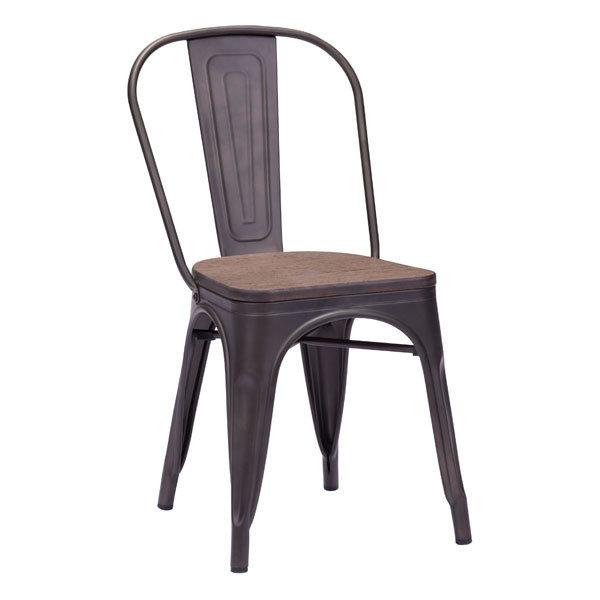 Elio Industrial Modern Dining Chair 108144-EB