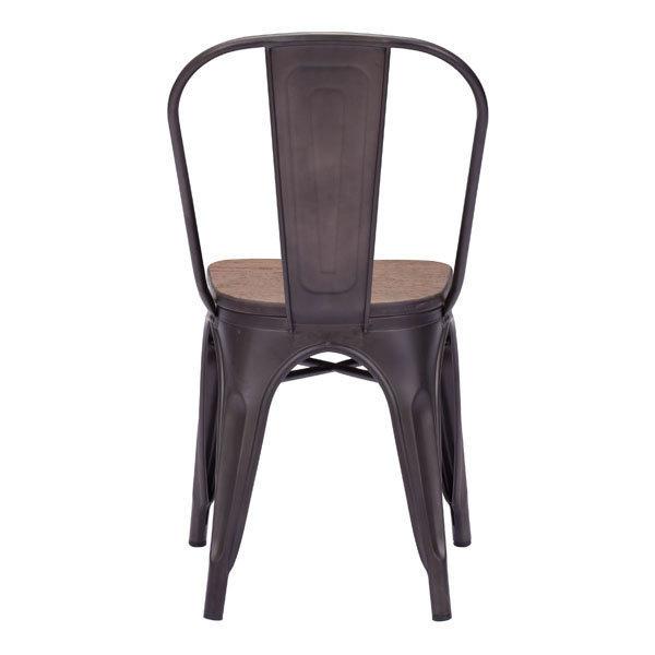 Elio Industrial Modern Dining Chair