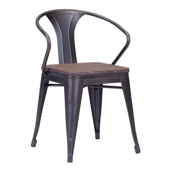 Helix Industrial Modern Dining Chair 108148-EB