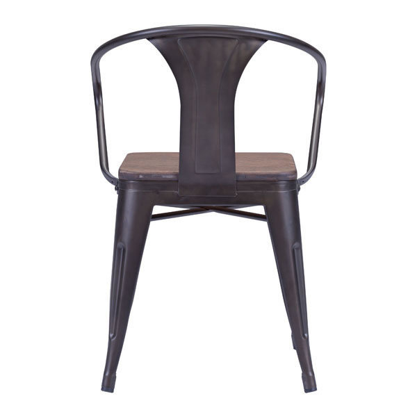 Helix Industrial Modern Dining Chair