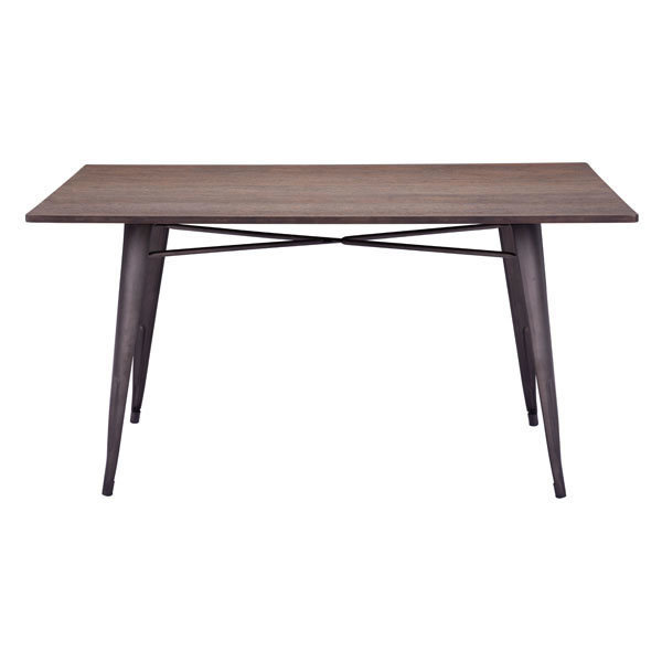 Titus Industrial Modern Rectangle Dining Table