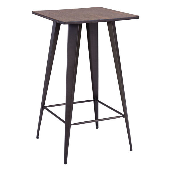 Titus Industrial Modern Bar Table 601188-EB