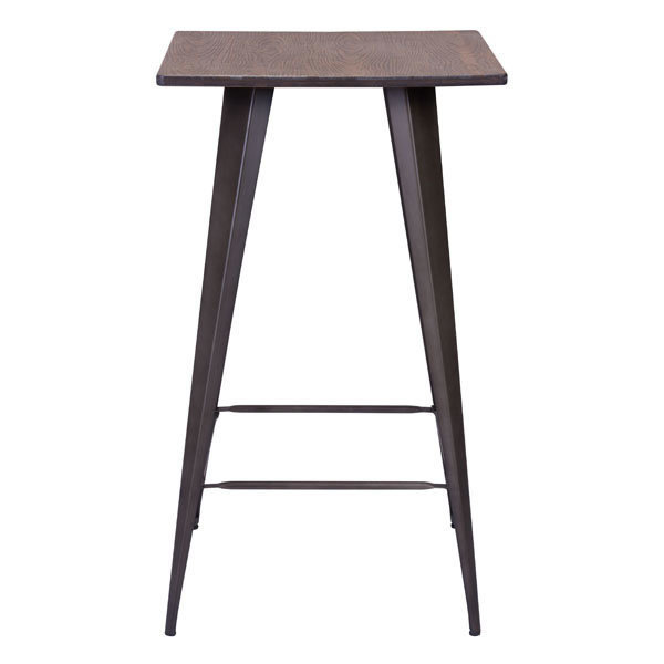 Titus Industrial Modern Bar Table