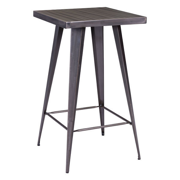 Olympia Industrial Modern Bar Table 601189-EB