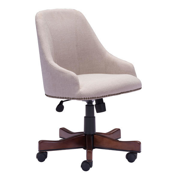 Maximus Industrial Retro Office Chair Beige 206083-EB