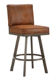Pasadena Upholstered Swivel Counter Stool in Inca 4803326