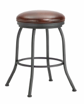 Fiesole Backless Counter Stool in Black 2002126