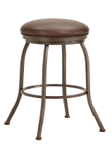 Fiesole Backless Counter Stool in Rust 2002426