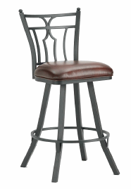 Randle Counter Stool in Black 3003126-EB