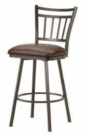 Emma Bar Stool in Rust 5603430