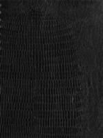 Lizardo Black Faux Leather