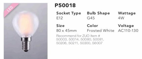P50018 G45 LED Bulb