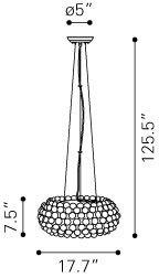Stellar modern Ceiling pendant Lamp