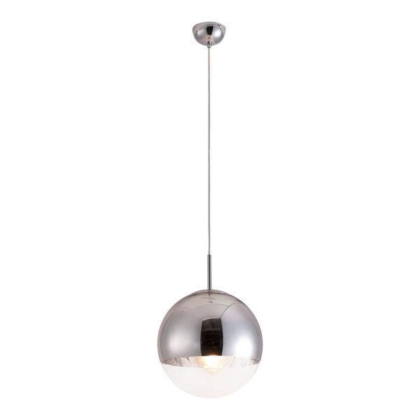 Kinetic Modern Retro Chrome Ceiling Pendant Lamp 50104-EB